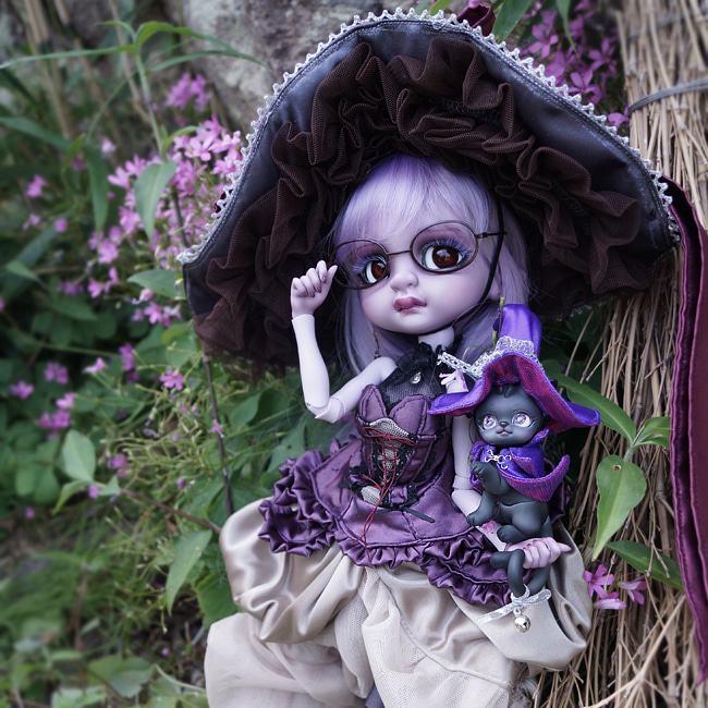 BJD,돌팜(DOLLPAMM),BOBBLE 'Violet CUCU&PICA' (Sale end)