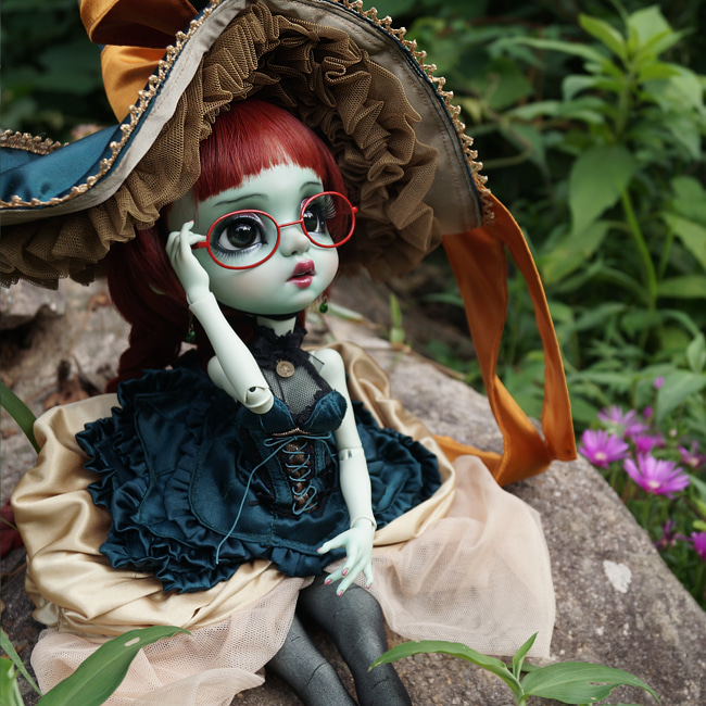 BJD,돌팜(DOLLPAMM),BOBBLE 'Mint-green CUCU&PICA' (Sale end)