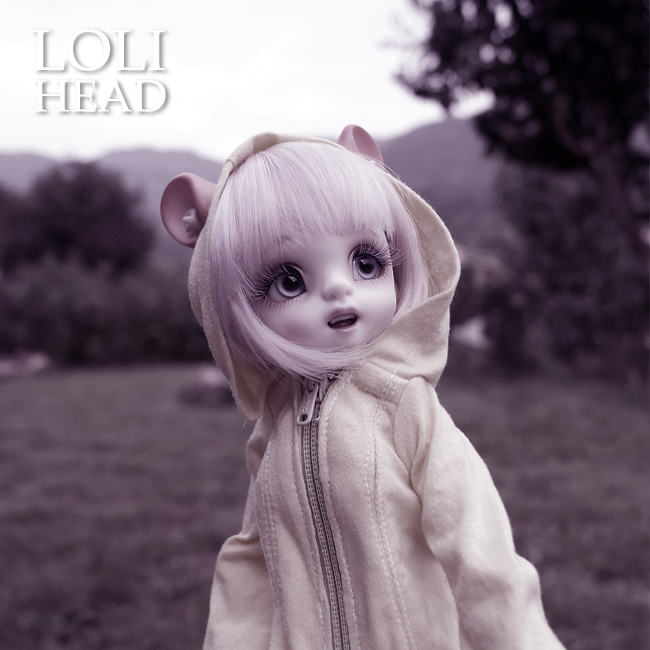 BJD,돌팜(DOLLPAMM),LOLI 'HAMZZI' Head