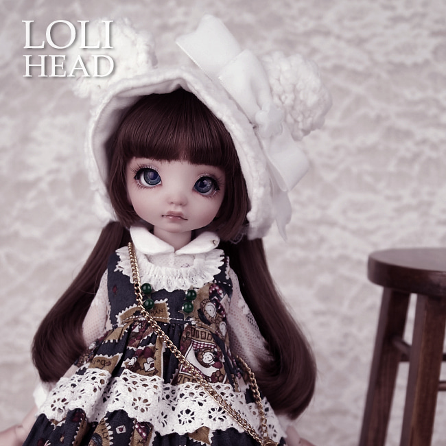 BJD,돌팜(DOLLPAMM),LOLI 'TORI' Head