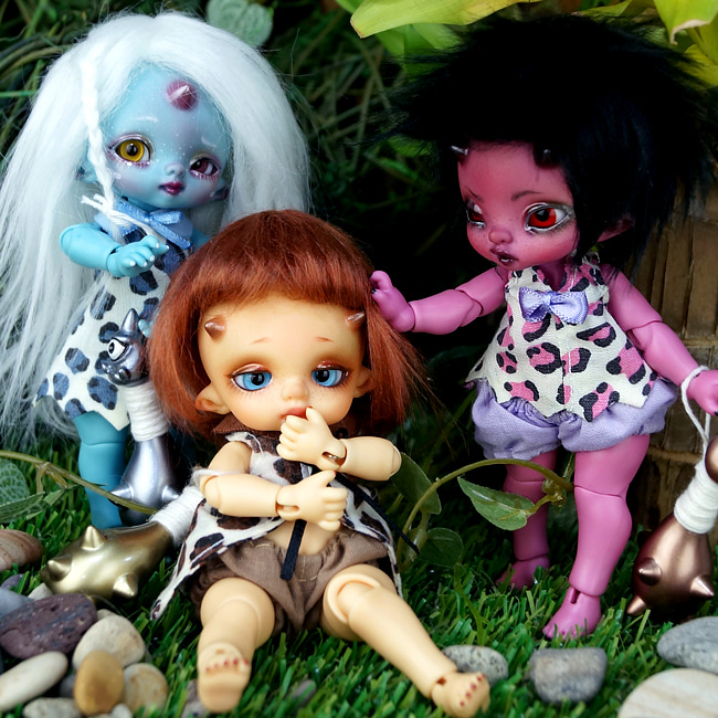 BJD,돌팜(DOLLPAMM),IMP Family 3doll set (sale end)
